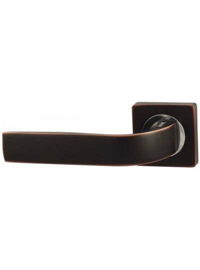 Дверная ручка V01BL черный никель Квадратная розетка