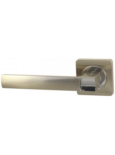 Дверная ручка V02D матовый никель Квадратная розетка