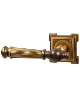 Дверная ручка V15CF кофе Квадратная розетка