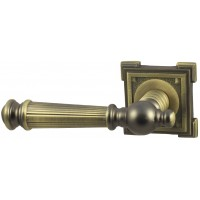 Дверная ручка V15M матовая бронза Квадратная розетка