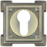 Накладка на цилиндр ET15M матовая бронза