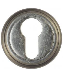 Накладка на цилиндр  ET03AS состаренное серебро