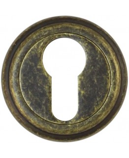 Накладка на цилиндр ET03BR состаренная бронза