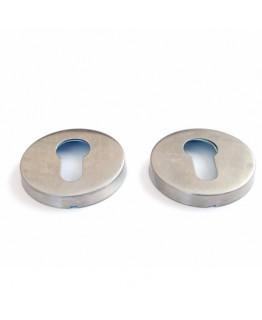 Накладка на цилиндр DP-C-02- INOX