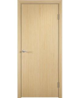 Межкомнатная дверь гладкая шпонированная Беленый дуб