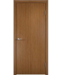 Дверь Гладкая шпонированная Орех