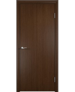 Дверь Гладкая шпонированная Венге