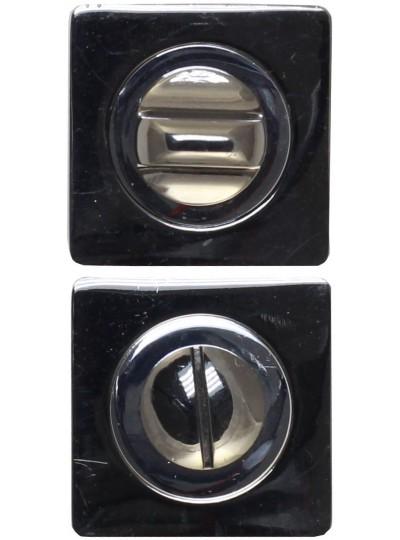 Фиксатор сантехнический BK02BN черный никель/хром