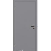 Финская дверь серая крашенная с притвором VELLDORIS RAL7040 Размер Евро