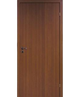 Дверь гладкая ОРЕХ 3D ламинированная Олови с притвором