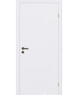 Финская дверь белая крашенная с притвором VELLDORIS RAL 9010 ЕВРО