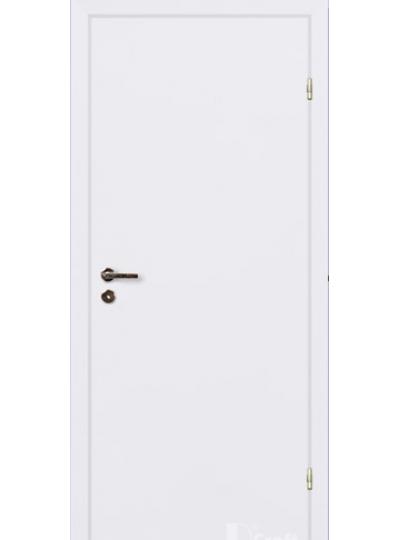 Финская дверь белая крашенная с притвором RAL 9010 ЕВРО