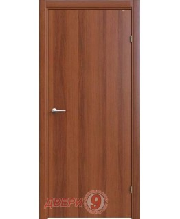Финская дверь с притвором итальянский орех ламинированная