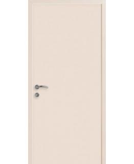 Дверь пластиковая КАПЕЛЬ монокалор RAL-9001