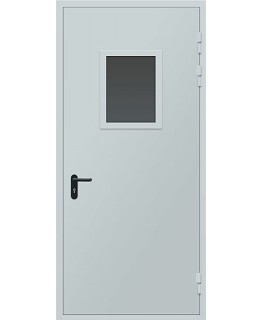 ДПМО-1 Дверь противопожарная металлическая остекленная EI-60 мин
