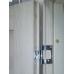Дверь Дуплекс 8, Duplex, Дуб золотой, стекло лакобель черное