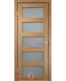 Дверь Velldoris Тренд-5V (Trend, Дуб золотой, стекло мателюкс)