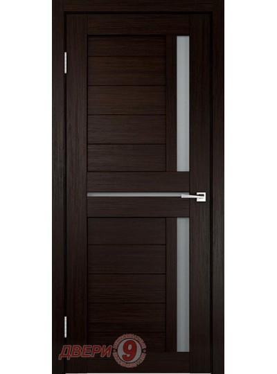 Дверь Дуплекс 3, Duplex, Венге, стекло мателюкс