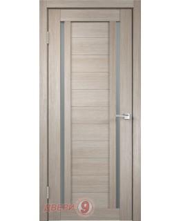 Дверь Velldoris Дуплекс 2 (Duplex, Капучино, стекло мателюкс)