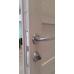 Дверь Дуплекс 8, Duplex, Венге, стекло лакобель черное