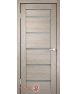 Дверь Дуплекс 5, Duplex, Капучино, стекло мателюкс