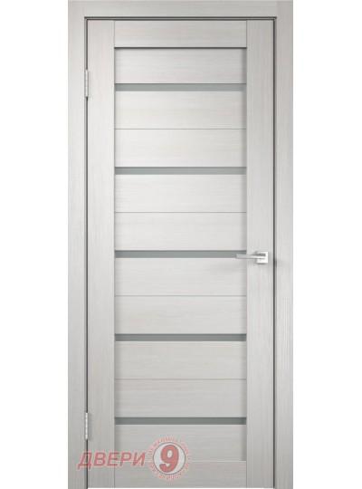 Дверь  Дуплекс 5, Duplex, Дуб белый, стекло мателюкс