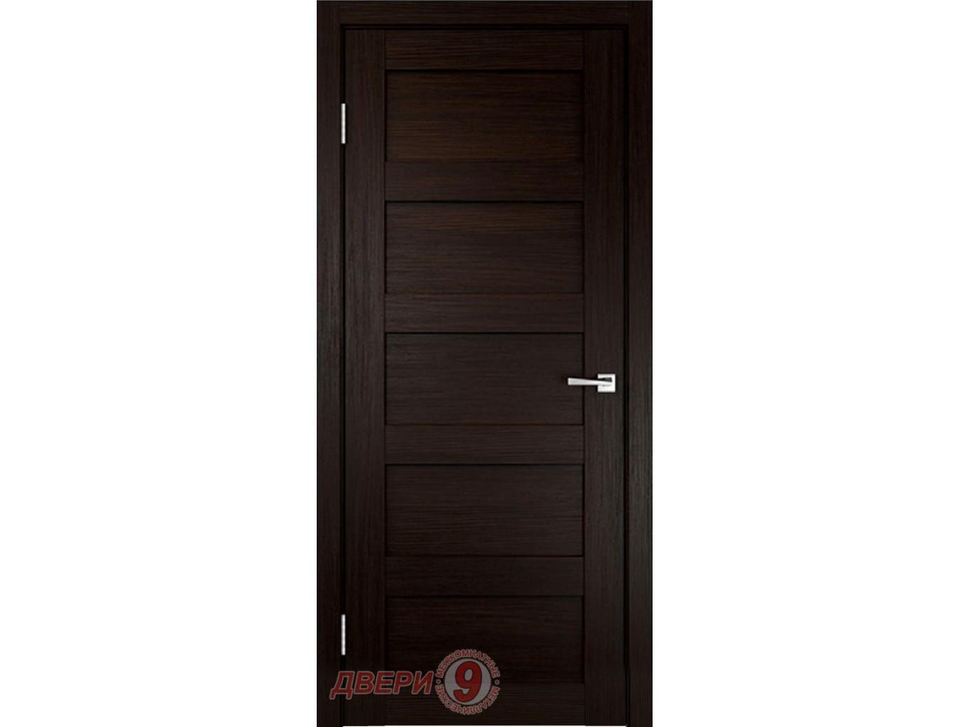 Дверь Velldoris Тренд-5P (Trend, Венге)