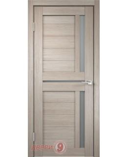 Дверь Дуплекс 3, Duplex, Капучино, стекло мателюкс