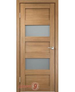 Дверь Velldoris Тренд-2V, Trend, Дуб золотой, стекло мателюкс