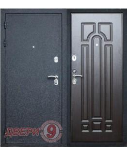 Дверь металлическая Верона-16 ПРЕСТИЖ Черный крокодил / Венге