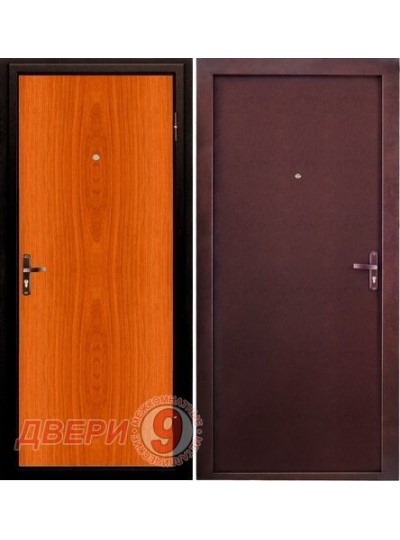 Дверь Эконом Внутреннее открывание Миланский орех