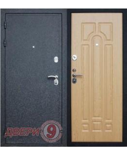 Дверь металлическая Верона-16 ПРЕСТИЖ Черный крокодил / Дуб натуральный