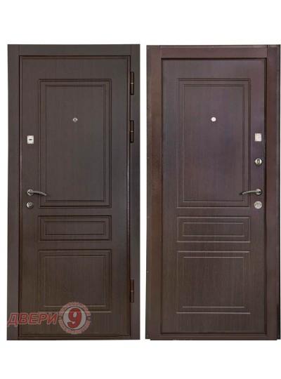 Металлическая дверь Кондор Х-1 Венге