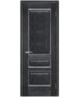 "Дверь ВЕНА Черная патина ""Вист"" Глухая"